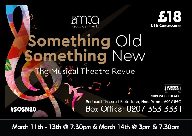 Something Old, Something New – The Musical Theatre Revue