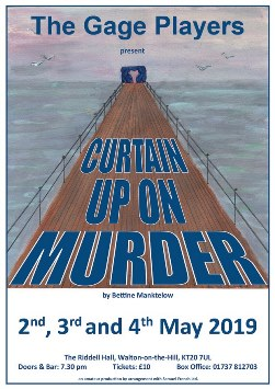 Curtain up on Murder by Bettine Manktelow