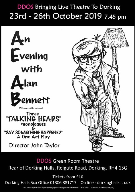 An Evening With Alan Bennett Open Meeting/AUDITIONS