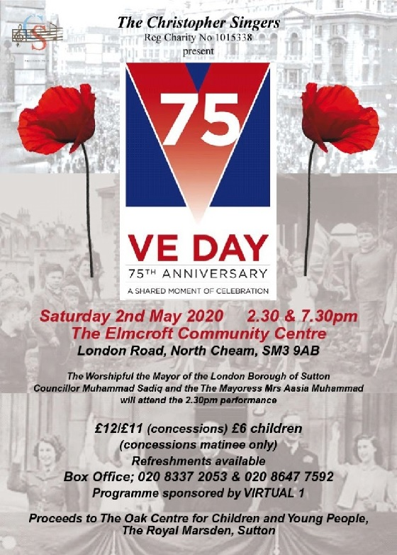VE DAY - Celebrations, 75th Anniversary