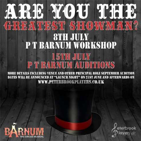 Barnum Workshop & Audition